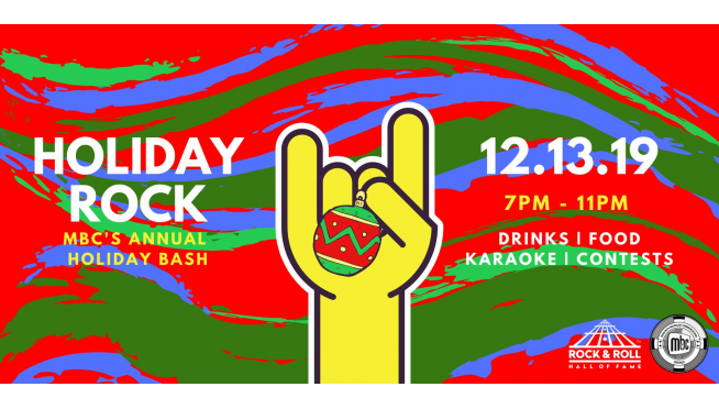 Party Like A Rockstar At The Museum Of Broadcast Communications Annual Holiday Bash