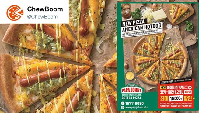 YUM or YUCK?: Papa John's has introduces Hot Dog Pizza