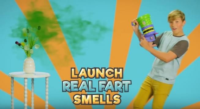 The Buttheads Fart Launcher 3000 is the hottest Christmas gift of 2019….