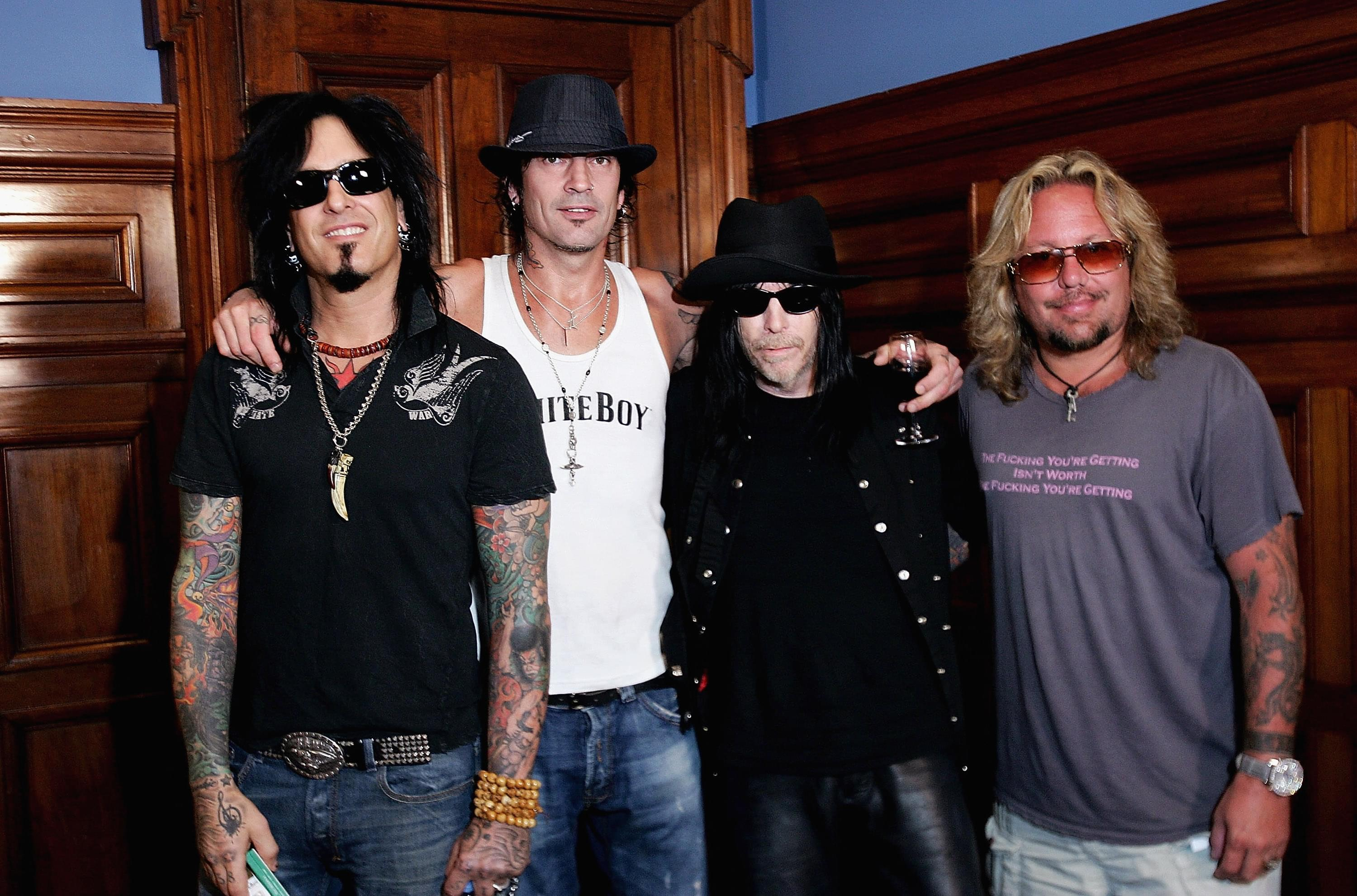 Motley Crue members 'Missed each other,' says Nikki Sixx