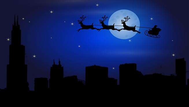 How does Santa get to all those houses SO FAST??