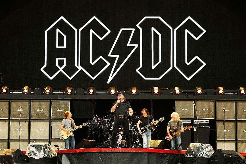 AC/DC'S 'Back In Black' certified 25 times platinum
