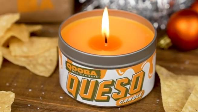 Qdoba is selling candles that smell like CHEESE