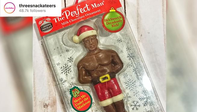 Give the gift of the 'Perfect Man' for Christmas