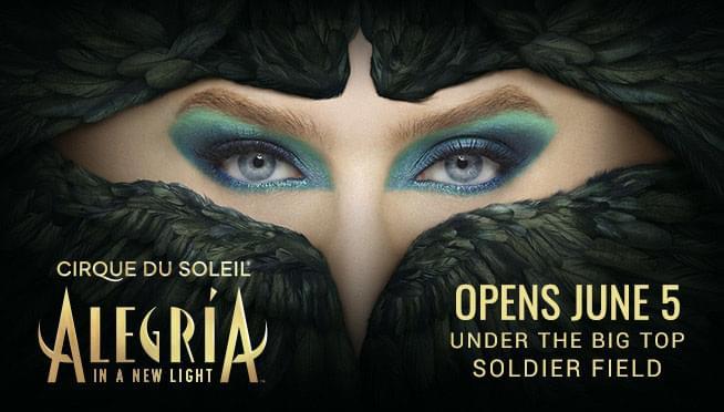 6/5 – 6/28/20 – Cirque Du Soleil: Alegria