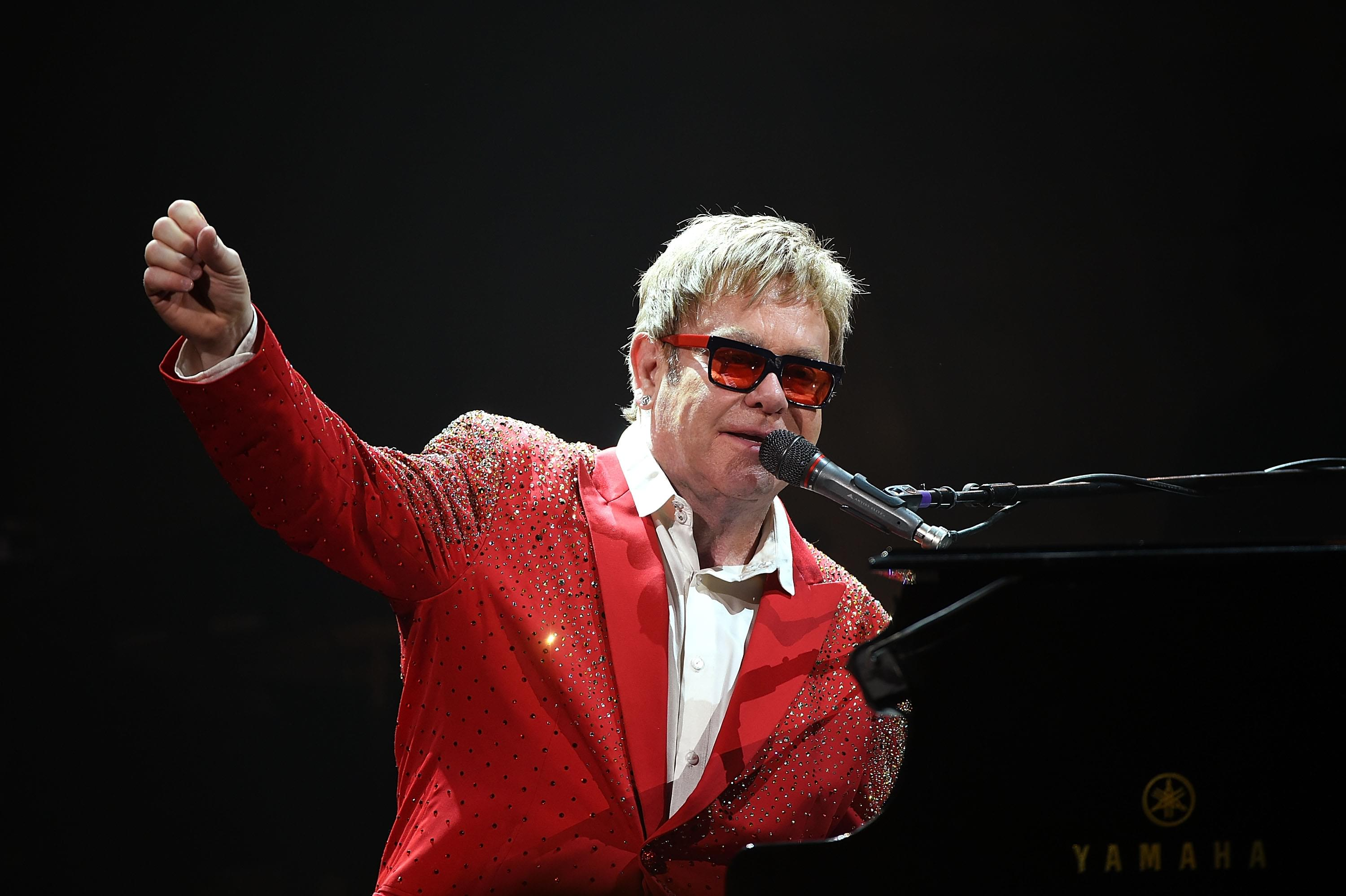 Elton John will stream weekly Classic Concert Series on his YouTube channel