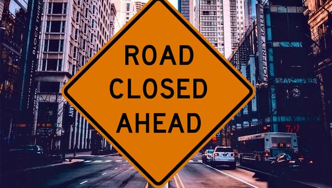Chicago New Year's street closures