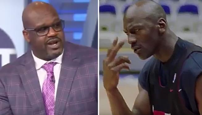Even Shaquille O'Neal was afraid of Michael Jordan on the court