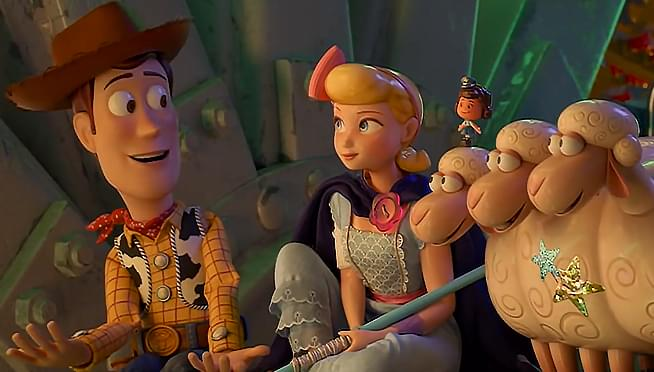 WATCH the first trailer for the Bo Peep 'Toy Story 4' prequel