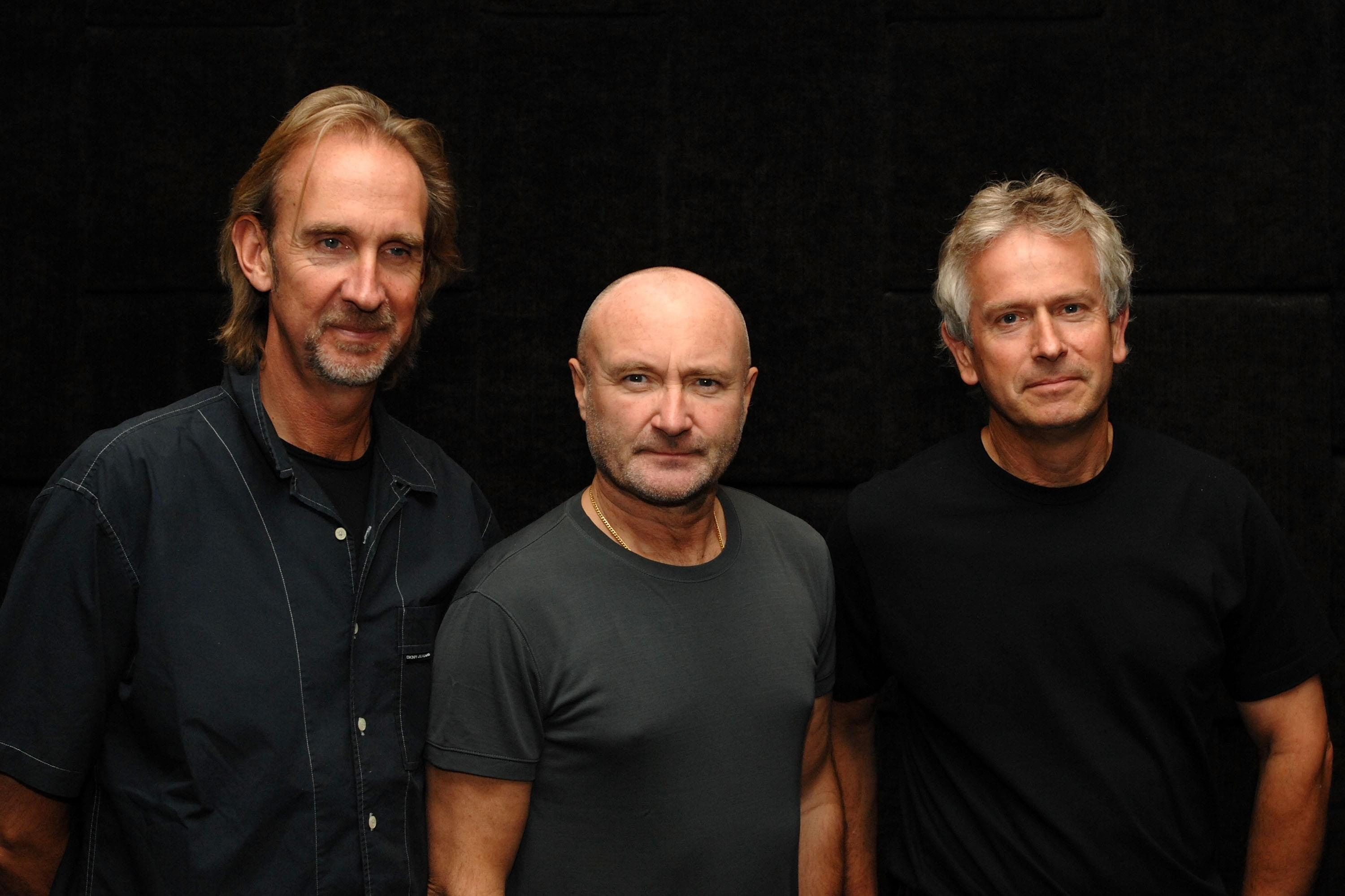 Phil Collins, Tony Banks, and Mike Rutherford spotted together… Could this mean Genesis is getting back together??