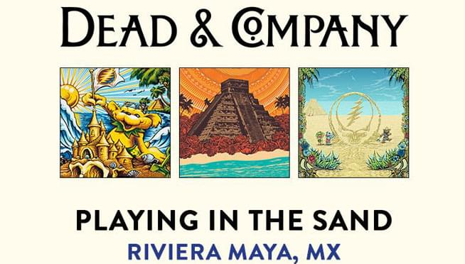 "Win a copy of Dead and Company's ""Playing in the Sand!"""