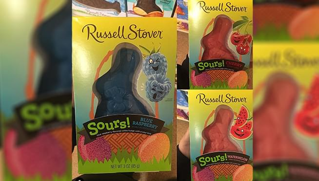 Sour Chocolate Bunny's are a thing now