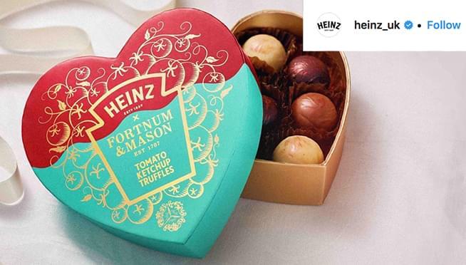 Heinz released ketchup-flavored truffles