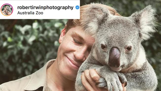 HOLY CATS!!  Robert Irwin looks just like his dad, Steve Irwin!
