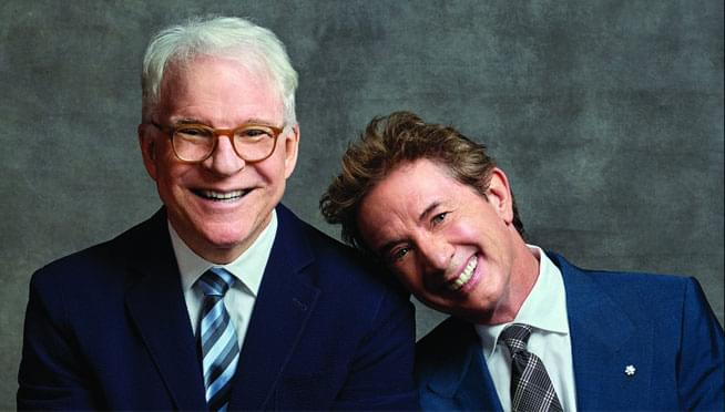 Win tickets to see Steve Martin & Martin Short