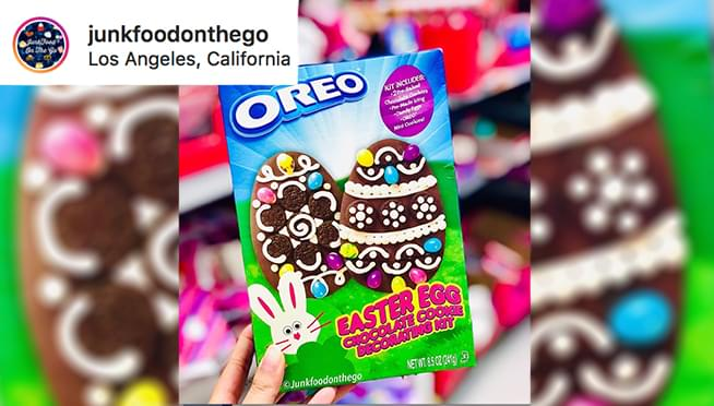 Sure, you can decorate eggs for Easter… but how about OREO's instead??