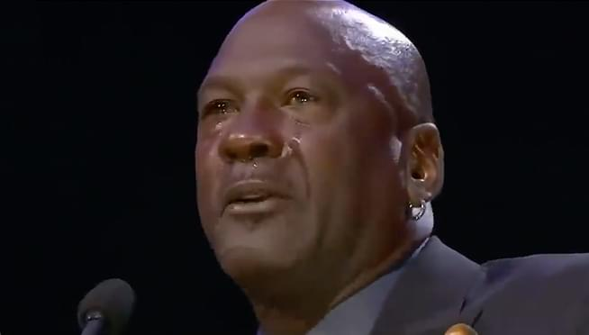WATCH Michael Jordan's emotional speech to his fallen friend, Kobe Bryant
