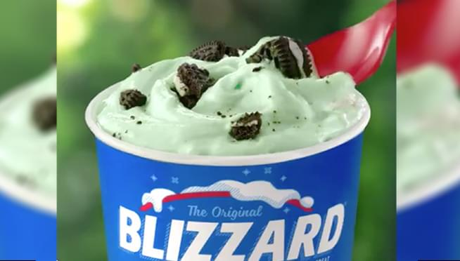Dairy Queen is bringing Mint Oreo Blizzard back in time for St. Patrick's Day