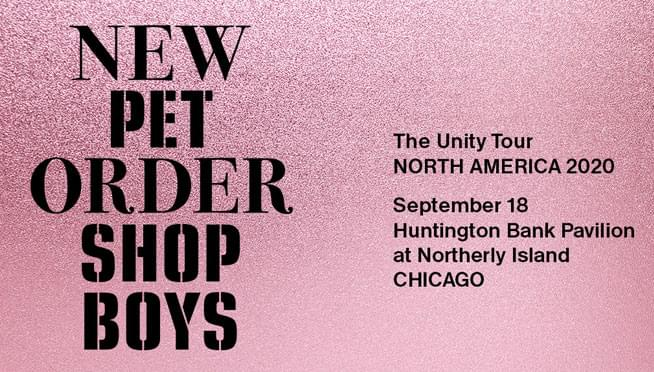 Win tickets to see The Unity Tour with New Order and Pet Shop Boys!