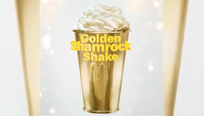McDonald's is giving away a GOLD Shamrock Shake Cup worth $90,000