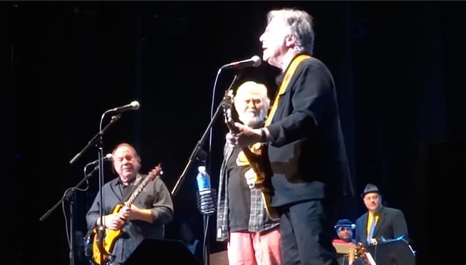 WATCH Lovin' Spoonful reunite on stage for the first time since 2000!