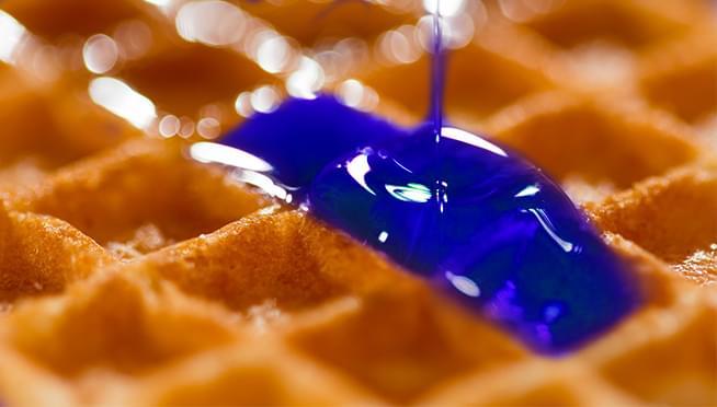 Cap'n Crunch is releasing ocean BLUE maple syrup
