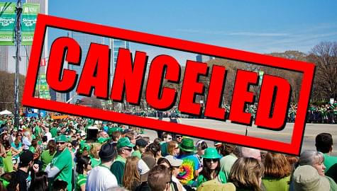 UPDATE: Chicago just canceled both major St. Patrick's Day Parades