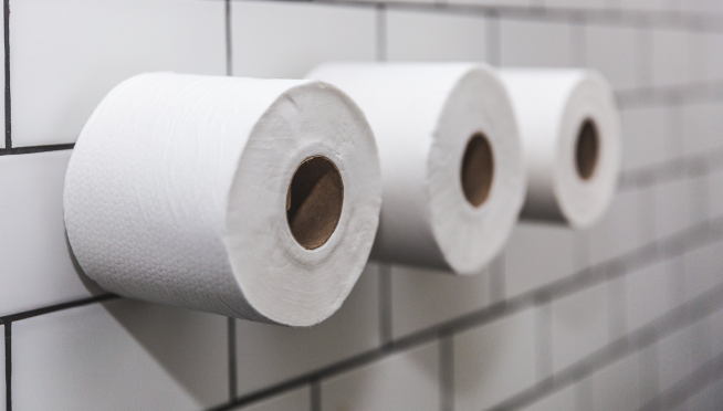 Check out this handy toilet paper usage calculator
