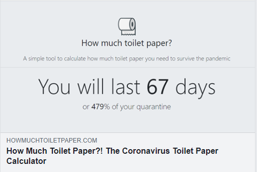 The Toilet Paper Calculator is the tool you need today!