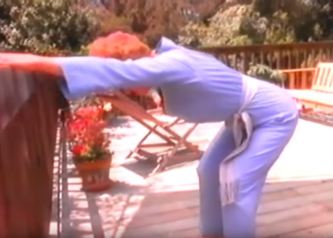 Looking for a new exercise routine while you're home? Work out with Angela Lansbury!