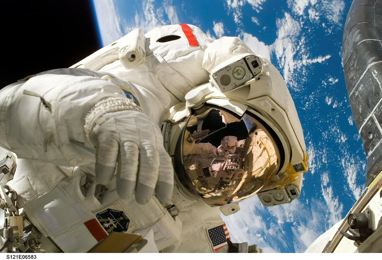 WATCH 2 Astronauts share tips to self-isolate without going nuts