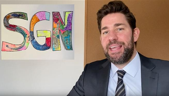 John Krasinksi launches a 'Good News' YouTube series