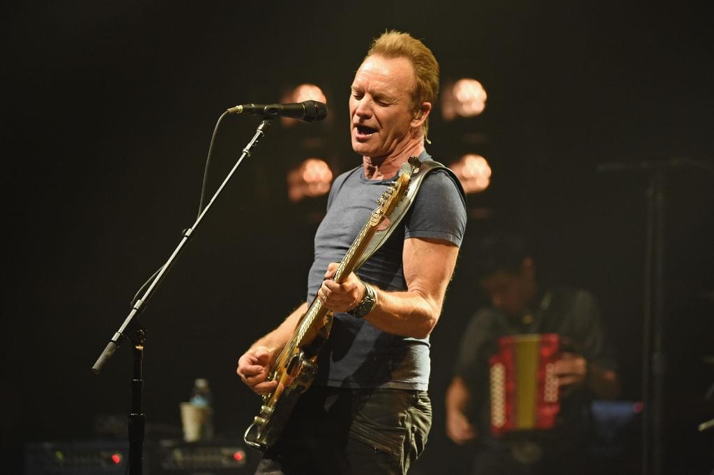Sting to headline live concert stream