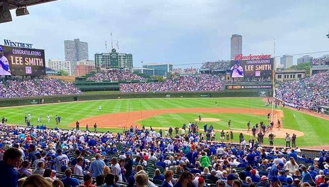 Cubs and White Sox will be able to allow fan into games on opening day