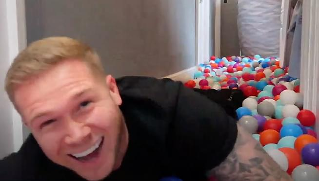 Dad turns house into GIANT BALL PIT without telling his wife