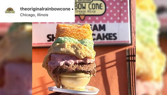 Original Rainbow Cone and other Chicago staples still serving up ice cream this summer