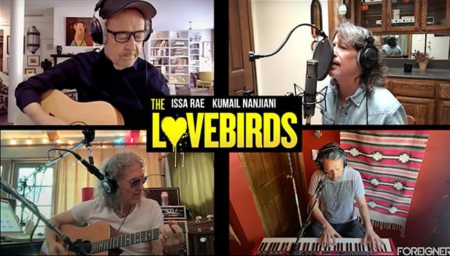 WATCH Foreigner re-record 'I Want To Know What Love Is' via Zoom