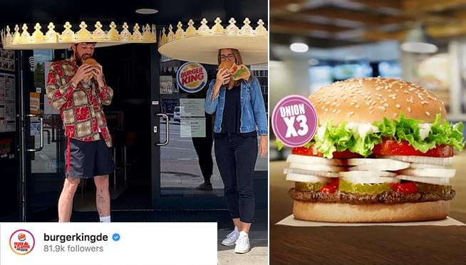 Burger King releases Social Distancing Crowns and Onion-filled Whoppers!
