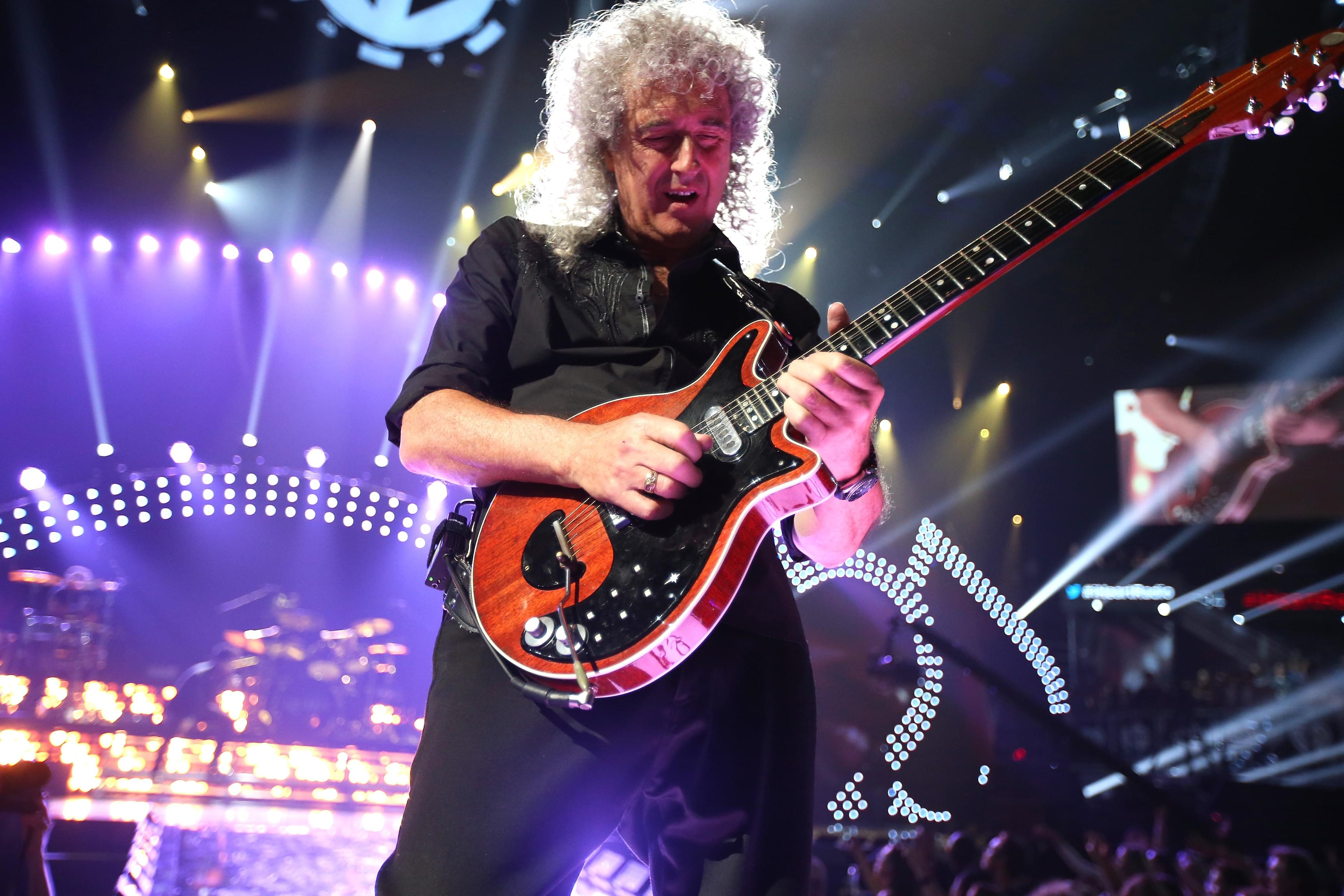 Queen's Brian May reveals he suffered a heart attack