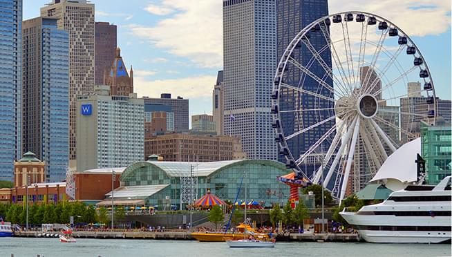 Navy Pier to begin reopening NEXT WEEK – Fireworks returning in May