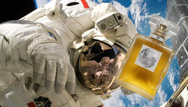 NASA developed a fragrance that smells like SPACE