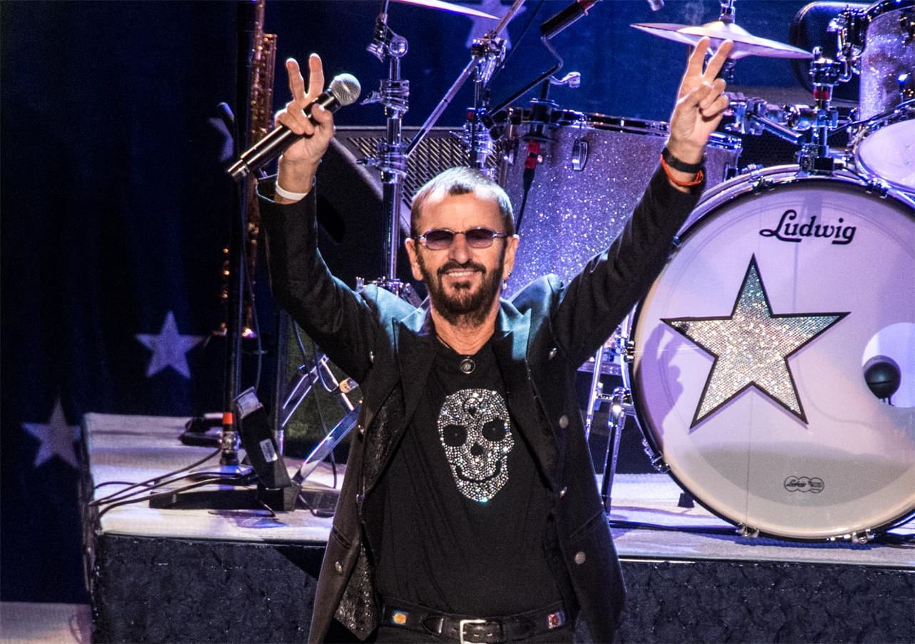 Peace and love!  Happy birthday to Ringo Starr!!