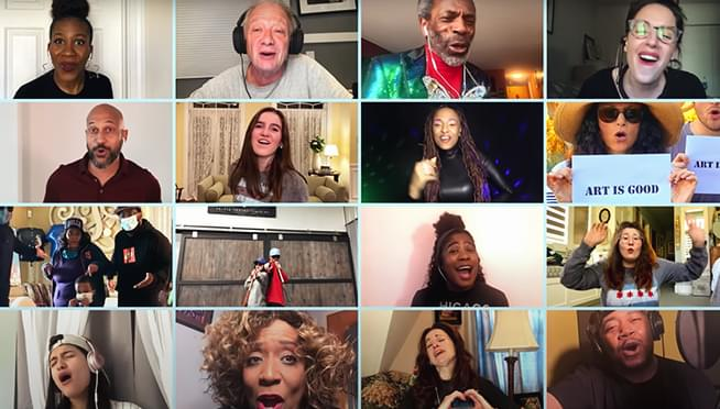 "WATCH Chicago Celebs sing ""Sweet Home Chicago"" for COVID-19 Arts for Illinois Relief Fund"