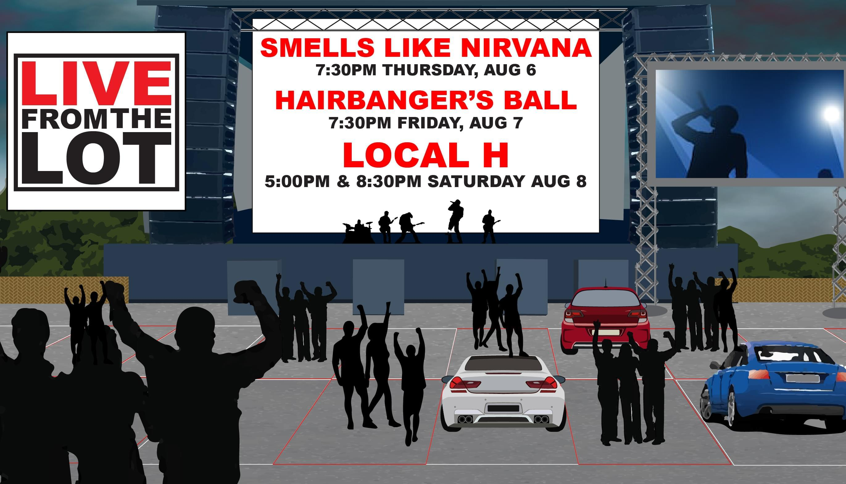 8/6/20 – LIVE FROM THE LOT featuring Smells Like Nirvana