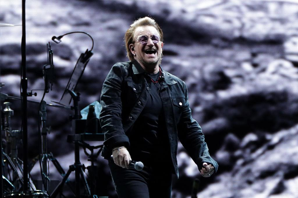 "WATCH Bono and The Edge of U2 perform an acoustic cover of ""Stairway to Heaven"""