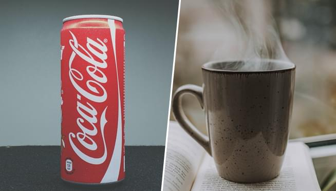 Coke will be making Coca-Cola WITH COFFEE in three flavors