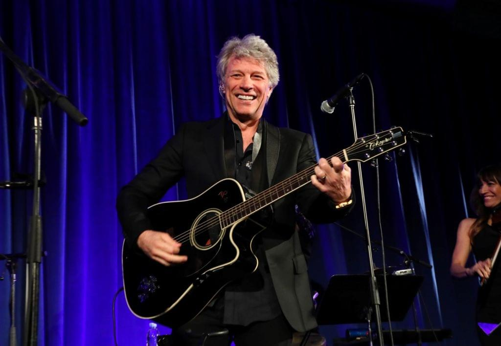 Jon Bon Jovi will stream a free, live concert for charity