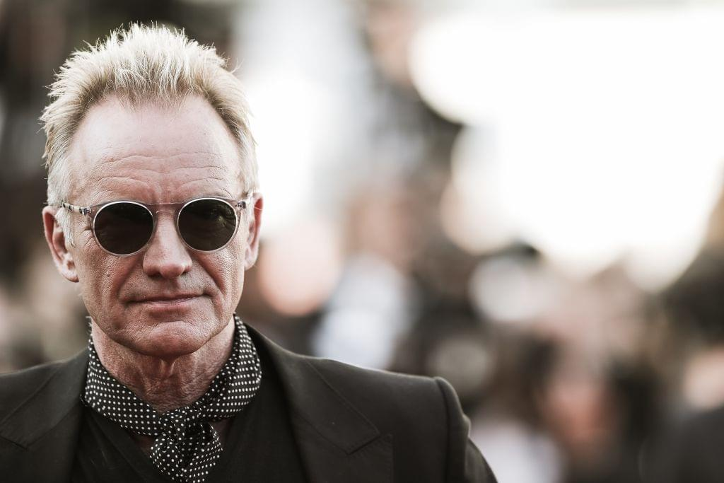 Sting working on first original album in four years