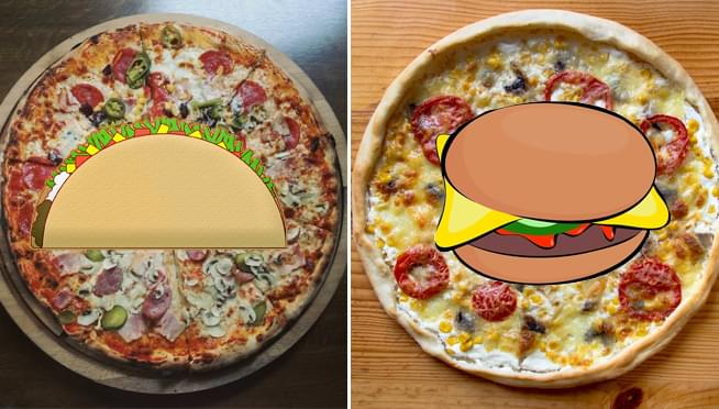 YUM or YUCK? – Domino's introduces TACO PIZZA and CHEESEBURGER PIZZA   94.7 WLS   WLS-FM