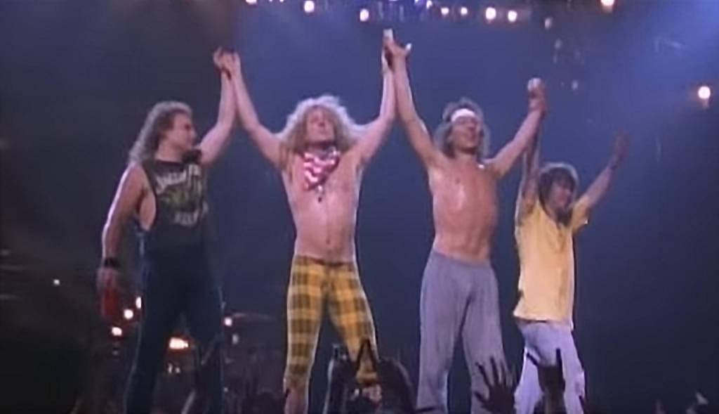 8/27/20 – Watch Van Halen's Balance Concert Video which almost got released to home video.